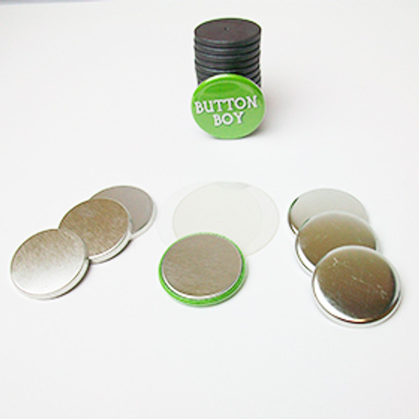 "1.25"" Magnet Flat Backs with 1-1/8"" Ceramic Magnets-250 pcs"