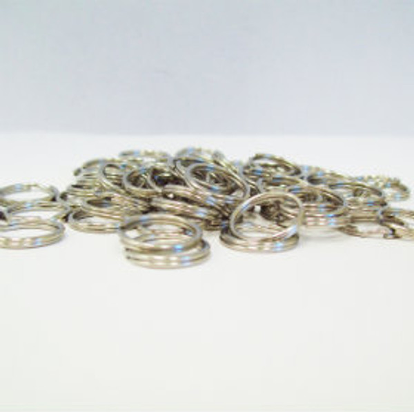 250 Plastic Tabs & Split Rings - For use with Versa Back Parts-BLACK