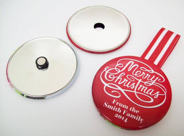 "3.5"" STD Ornament Button Parts 3-1/2Inch - Makes 250 Ornaments"