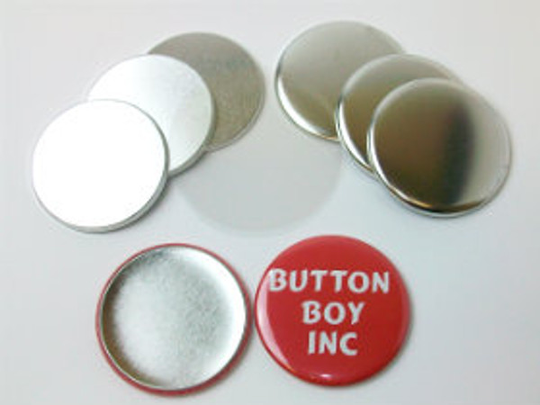 "2.25"" Tecre METAL FLAT BACK  Button Parts 2-1/4  Inch - 250 pcs-FREE SHIPPING"