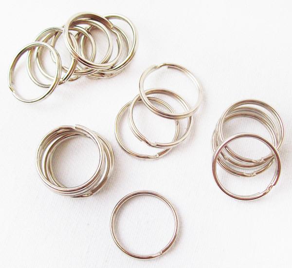 100 25mm Split Rings