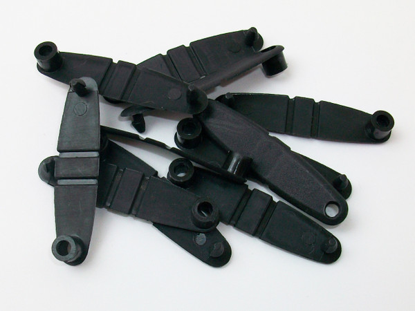 1000 Black Plastic Tabs - For use with Versa Back Parts
