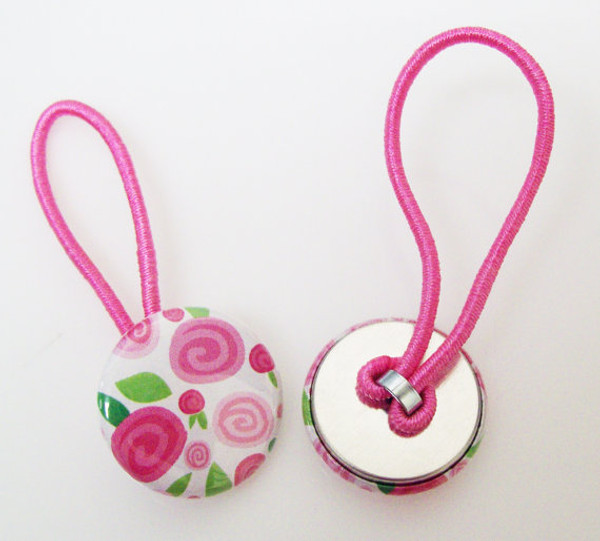 """1"""" Tecre Pony Tail & Shoelace Button Parts - 1000-FREE SHIPPING"""