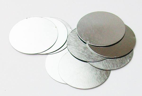 """Steel Metal Discs 1.875"""" - 100 discs"""