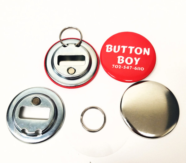 "2.25"" STD Magnetic Bottle Opener Parts With Ring 2-1/4 Inch-500"