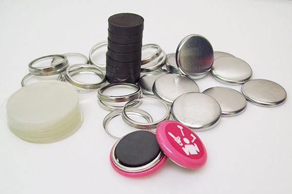 "1"" Complete THICK Ceramic Magnet Parts  - 100"