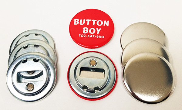 "2.25"" STD Magnetic Bottle Opener Parts No Ring 2-1/4 Inch-100"