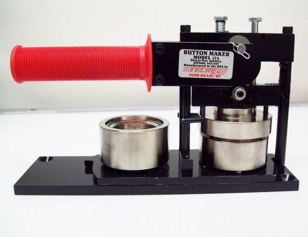 """1.75"""" KIT - Tecre Machine, Table Top Punch and 250 Pin Back Parts"""