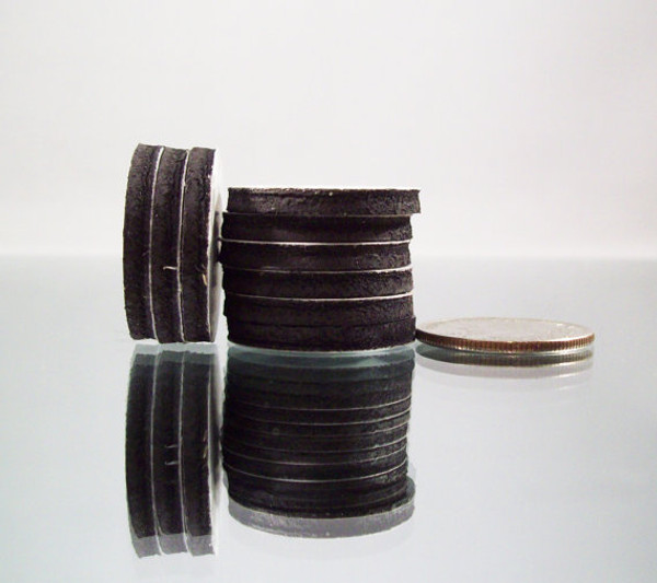 """1"""" Inch Round Rubber Peel & Stick Magnets ONLY - NOT for 1"""" Buttons - 1000"""
