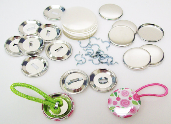 """1.25"""" Tecre Pony Tail INDENTED Button Parts 1-1/4 Inch - 250-FREE SHIPPING"""