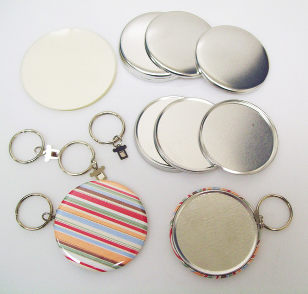 """2.25"""" STD Tecre SPLIT Style Key Chain Parts 2-1/4 Inch - Makes 100 Key Chains-FREE SHIPPING"""
