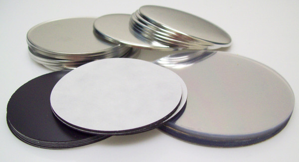 "3"" STD Magnet Button Parts 3 Inch - Makes 500 Magnet Buttons"