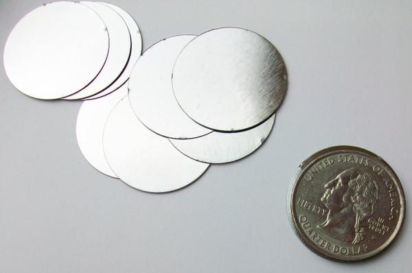 """Steel Metal Discs 1"""" 25mm - 500 discs"""
