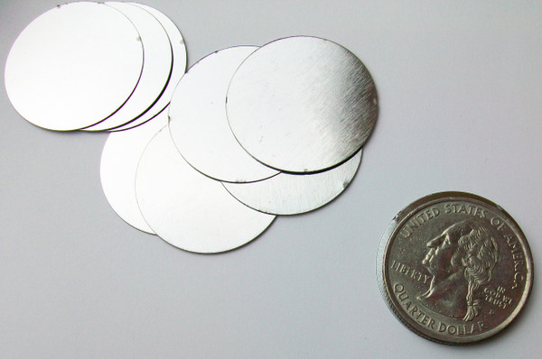"""Steel Metal Discs 1"""" 25mm - 100 discs"""