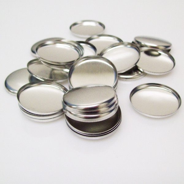 "Shells ONLY for 1 Inch ( 1"" ) Tecre Buttons - 1000 pcs"