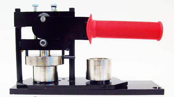 """1.25"""" Tecre Button Making Kit - Machine, Graphic Punch, 250 Pin Back Button Parts-FREE SHIPPING"""