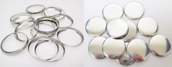 """Shells & Collets ONLY for 1-1/4 Inch ( 1.25"""" ) Tecre Buttons - 100 pcs"""