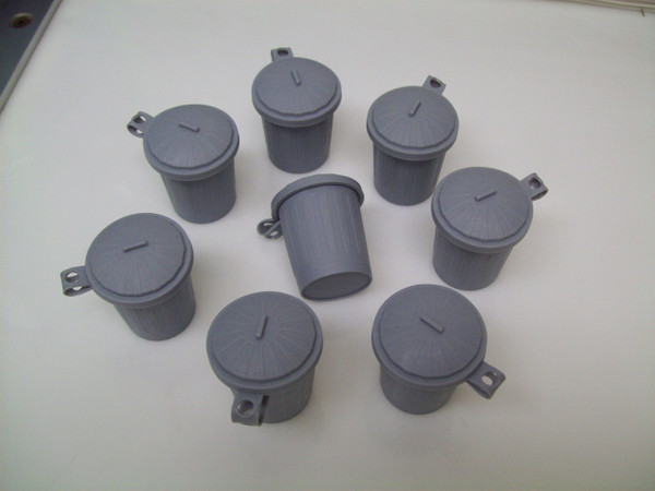 Trash Truck Dump Truck Trash Can Garbage Can Recycle Birthday Party Favors - 100 pcs