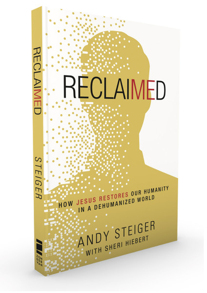 Andy Steiger, Reclaimed, Front cover
