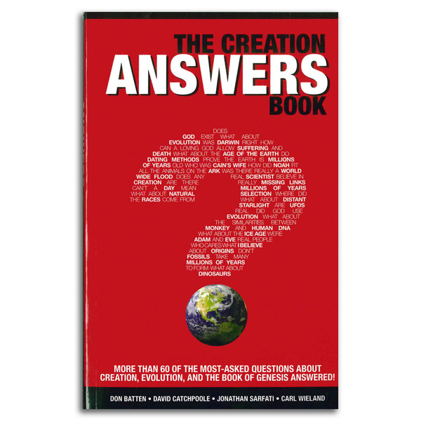 The Creation Answers Book. Front cover