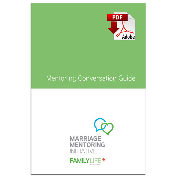 Mentoring Conversation Guide (PDF Download). cover