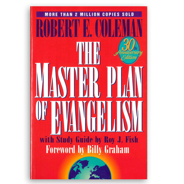 The Master Plan of Evangelism - 30th Anniversary Edition. Front cover