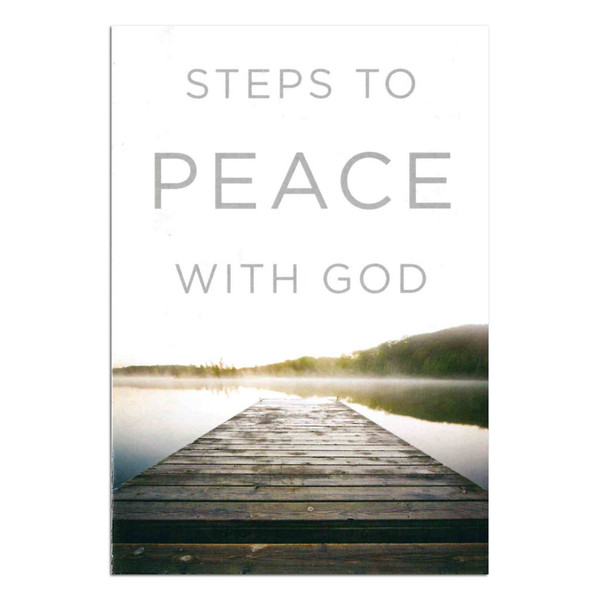 Steps to Peace with God. Front
