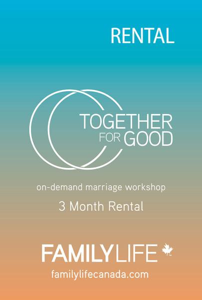 Together for Good Gift Certificate: Video Rental (Digital Download)