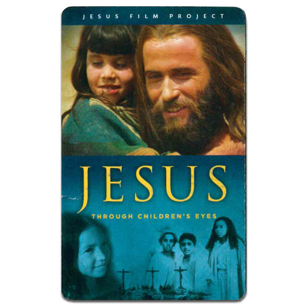 Jesus Through the Eyes of Children. Front of Gift Card
