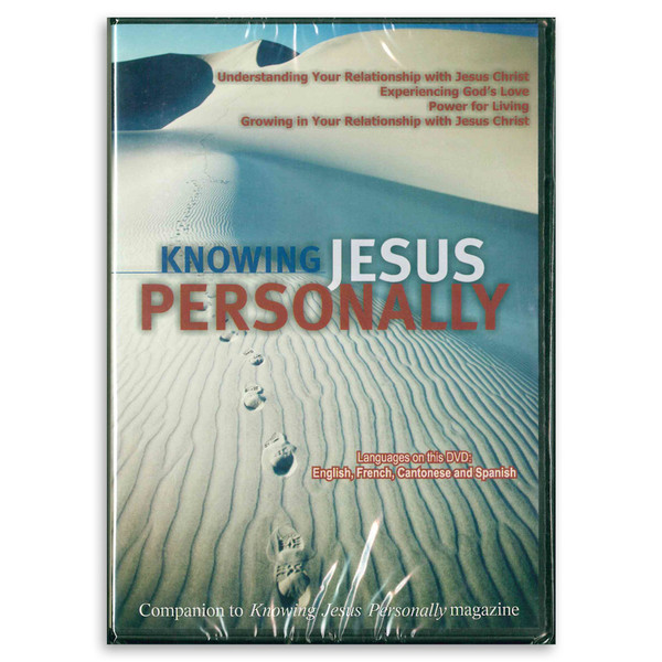 Knowing Jesus Personally DVD. Front cover