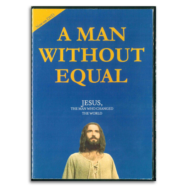 A Man Without Equal DVD. Front
