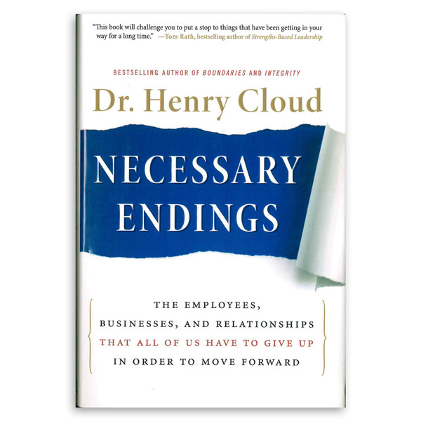 Necessary Endings. Front cover