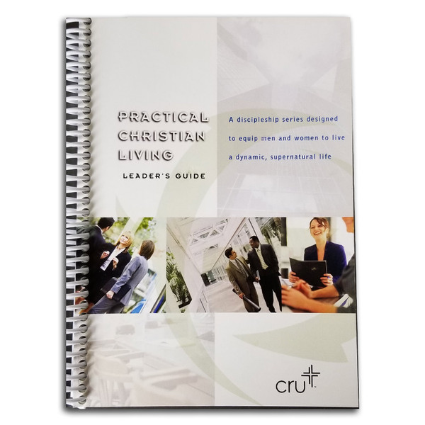 Practical Christian Living Leaders Guide. Front cover