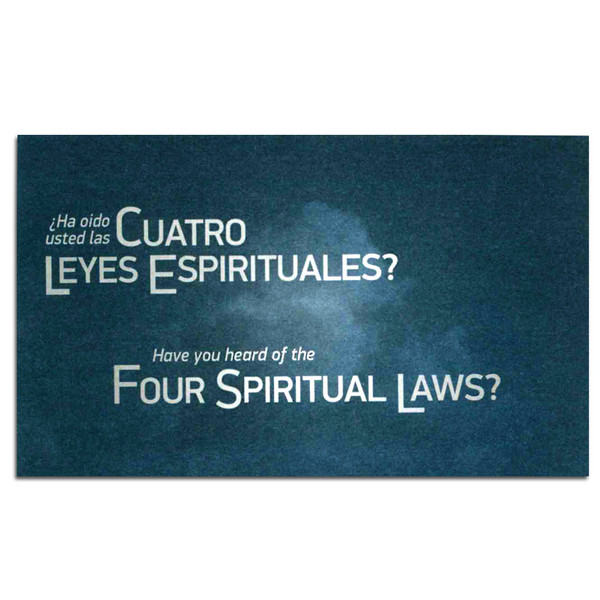 Spanish/English - Have You Heard of the Four Spiritual Laws? Front cover