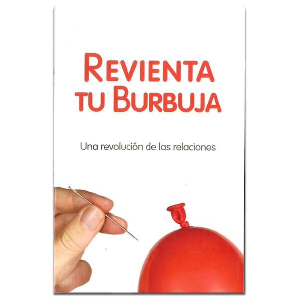 Bursting Your Bubble Manual (Spanish). Front cover