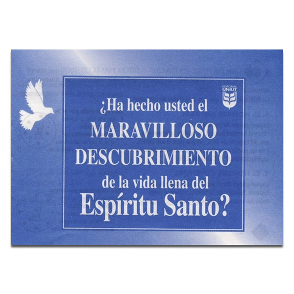 Spanish - Have You Made the Wonderful Discovery of a Life Full of The Holy Spirit?
