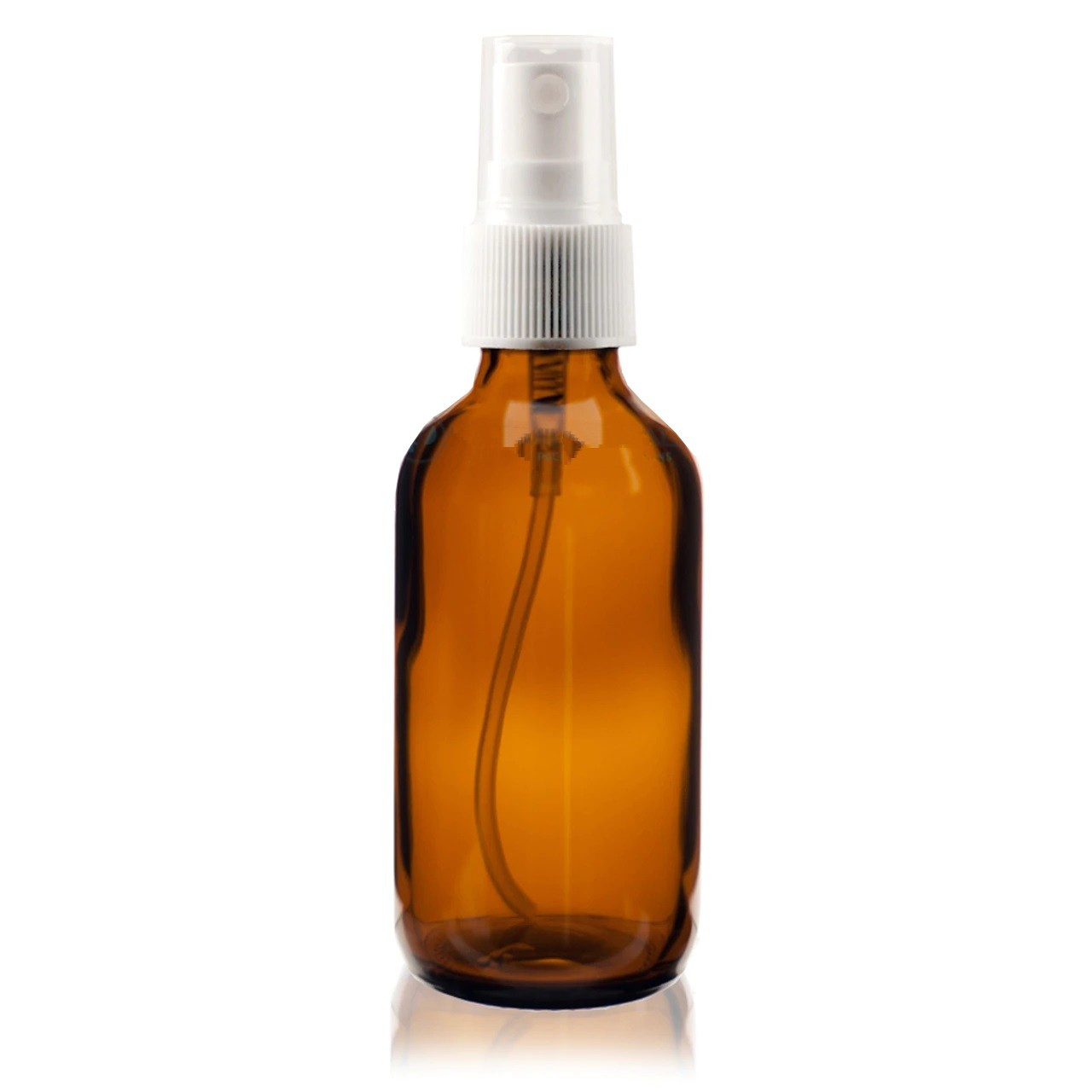 2 oz Amber Glass bottle with Spray top