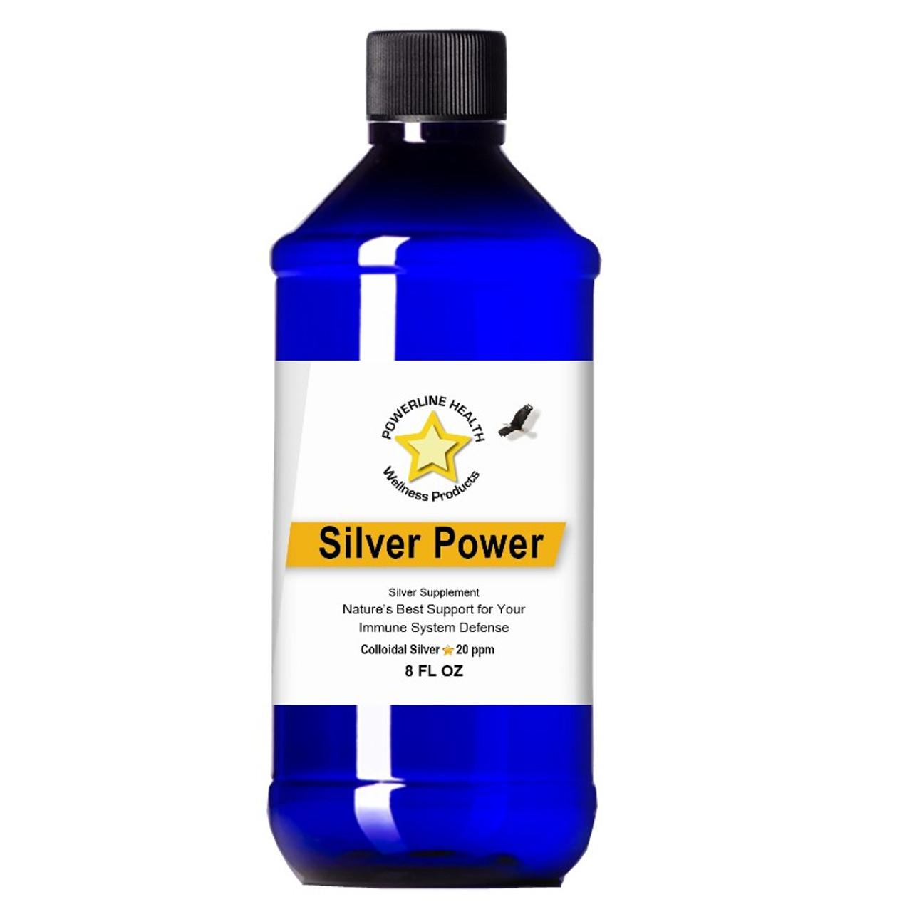 Silver Power - 20 PPM Colloidal Silver