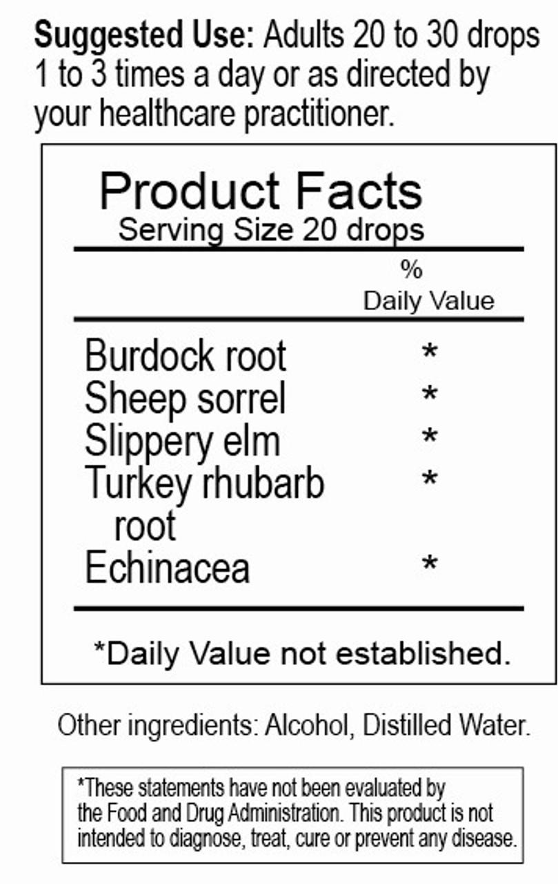 Essiac Plus Herbal Tincture