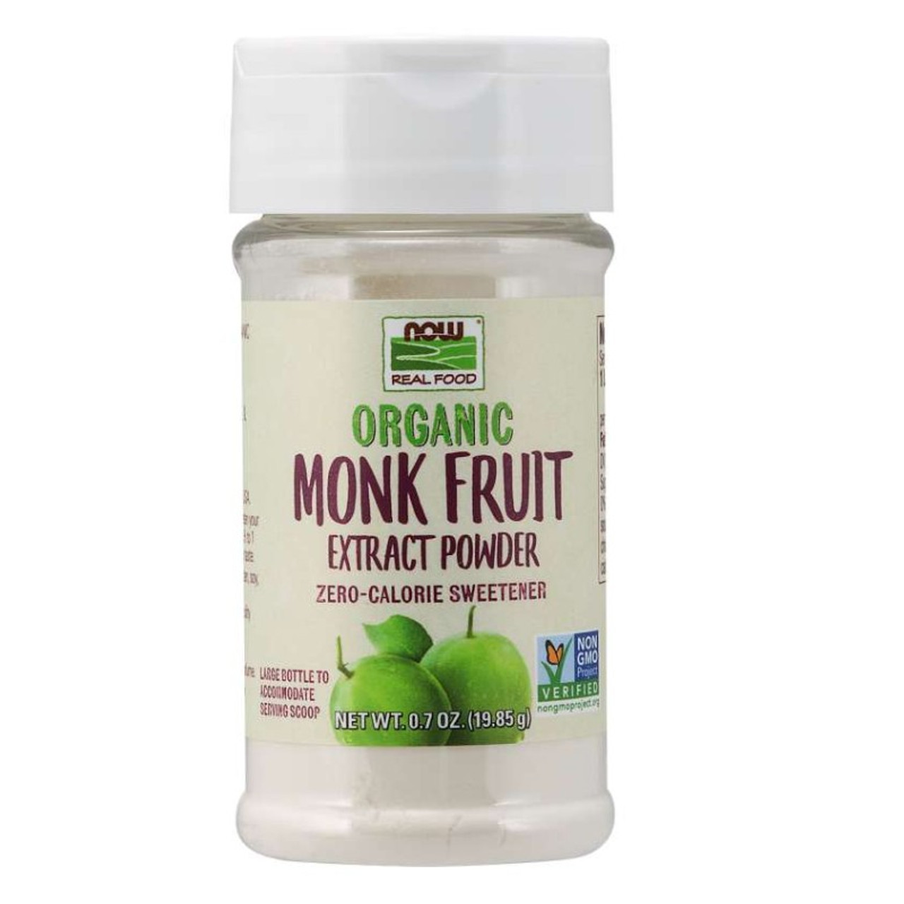Now Organic Monk Fruit Extract Powder