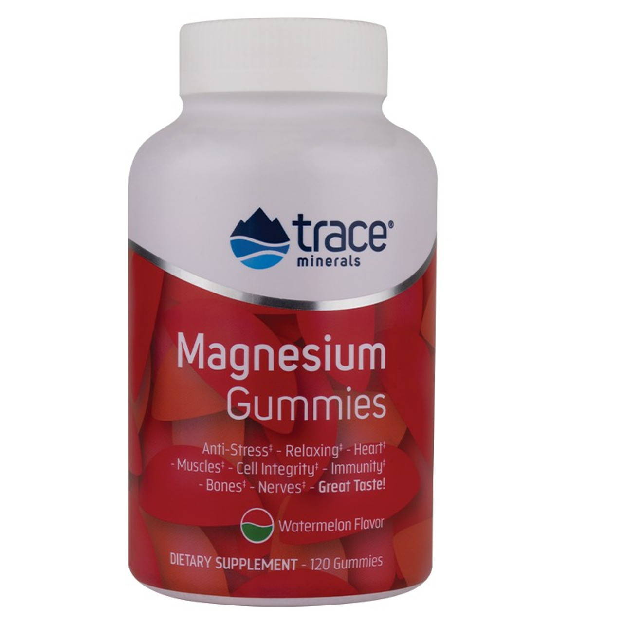 Trace Minerals Magnesium Gummies Watermelon