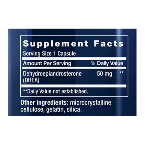 DHEA Supplement Facts