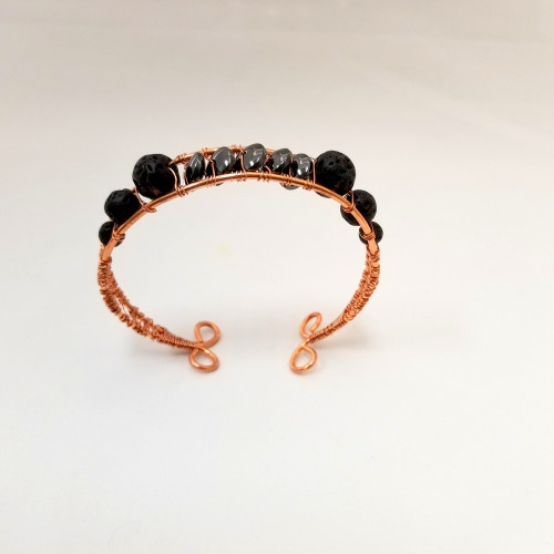 Copper Diffuser Bracelet with Magnets