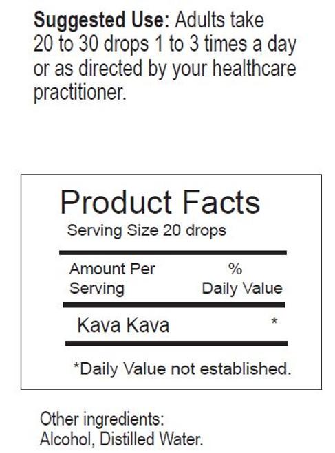Kava-Kava Tincture