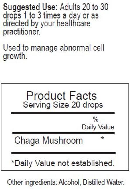 Chaga Herbal Tincture