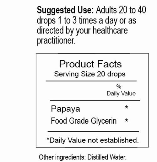 Papaya Enzymes - Supplement