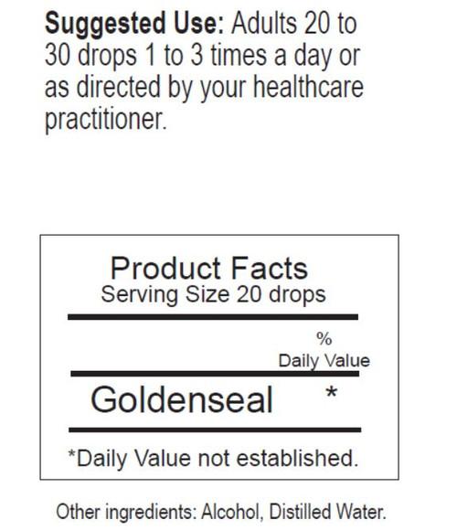 Goldenseal Herbal Tincture