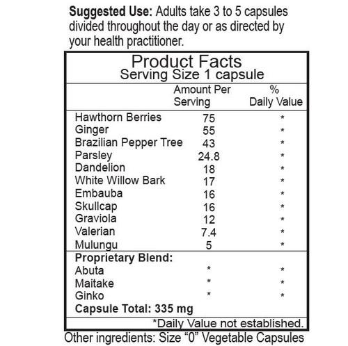 Hi-BP Herbal Caps