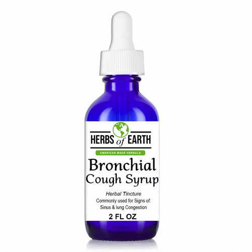 Bronchial Cough Syrup Herbal Tincture