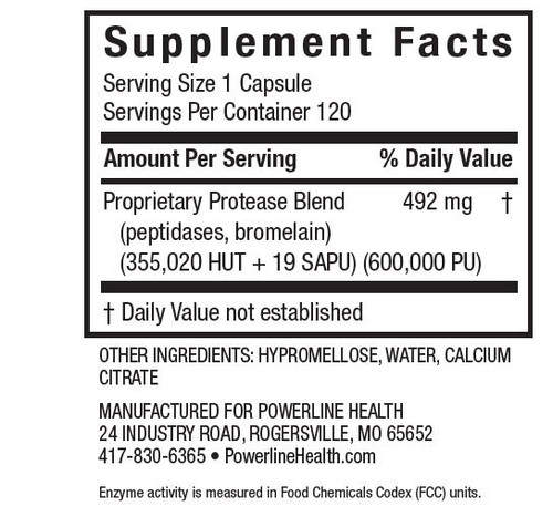 Protease Pro Enzyme Supplement
